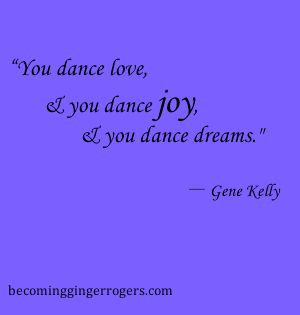 Epic dance quote. From swing dance to hip hop, no matter what genre of ...