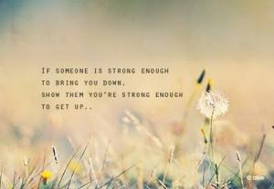 dandelion, quote, strength