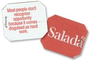 Salada Tea Bag quote