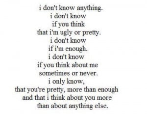 All the Time I Think About You Quotes
