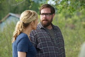 Still of Elizabeth Mitchell and Zak Orth in Revolution (2012)