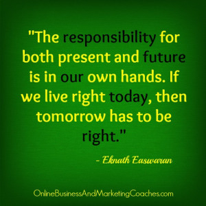 Eknath Easwaran quote