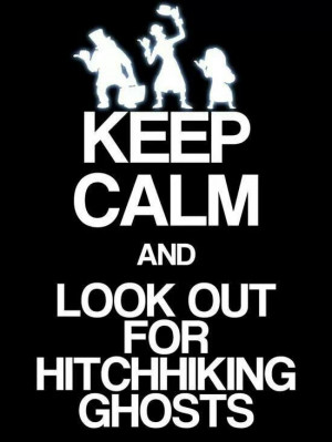 Hitchhiking ghosts