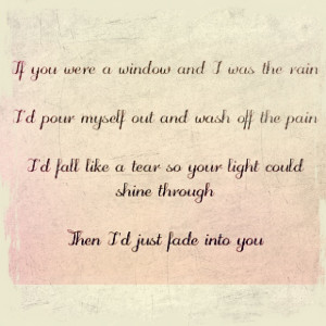 ... into you by Clare Bowen and Sam Palladio. The lyrics are haunting