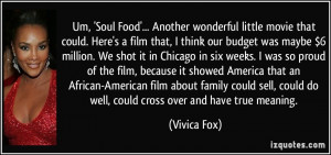 More Vivica Fox Quotes