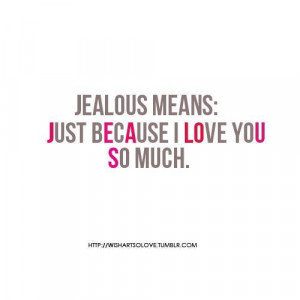 im jealous quotes tumblr