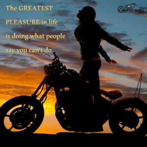 Biker Women, Women Biker Quote, Harley Women, Harley Bikes For Women ...