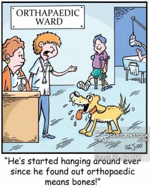 Orthopedics cartoons, Orthopedics cartoon, funny, Orthopedics picture ...