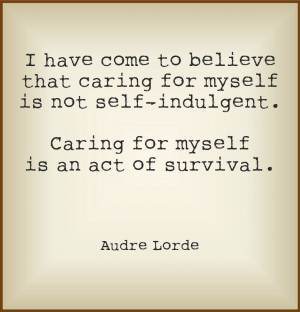 ... take care of ourselves? Below are my tips for committing to self care