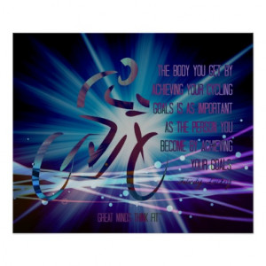 Cycling Quotes Poster for Inspiration