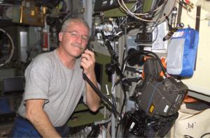 John L. Phillips, a NASA astronaut, talked to students in Australia ...