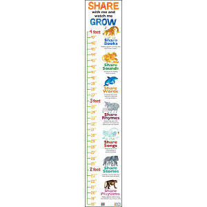 Eric Carle™ 7 Ways Growth Chart