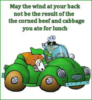 St. Patrick's Day Humor: Maxine comments on wind power.