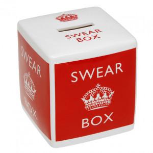 Keep Calm Swear Box Money Box...