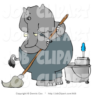 school custodian clipart