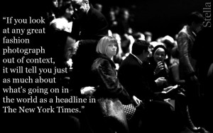 Anna Wintour quotes fashion