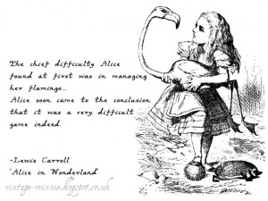 Alice in Wonderland: The Queen's Croquet-Ground' - Lewis Carroll
