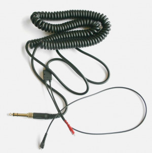 Cable Replacement Sennheiser HD 25 Replacement Cable 35mm Right Angle ...