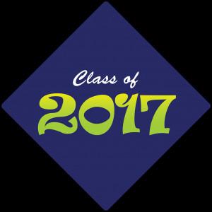 Class of 2017 Decorated Grad Cap