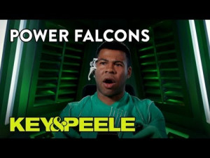 Key & Peele' are The Power Falcons and are here to save Earth from ...
