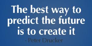 Marketing-Quotes preddict the future