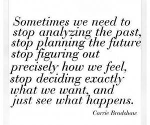 carrie bradshaw. Need to work on this!