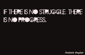 ... on was progress and struggle because i think of progress as success