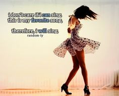 singing quote More