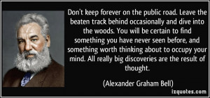 More Alexander Graham Bell Quotes