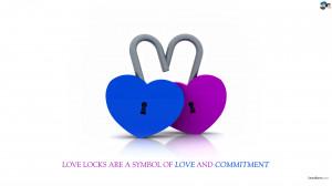 Love Lock HD wallpapers