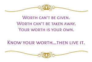 Women Know Your Worth Quotes