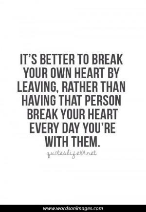 Sad Quotes About Heartbreak
