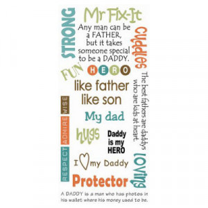quotes about fathers and sons for scrapbooking