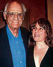 Arthur Miller With His Then