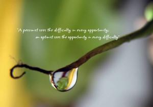 Best Optimistic Quotes