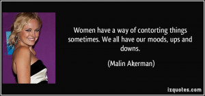 More Malin Akerman Quotes
