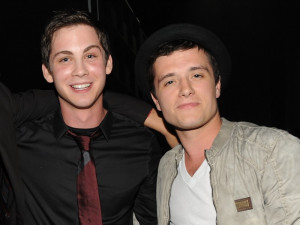 Logan Lerman And Josh Hutcherson Young De logan lerman e josh