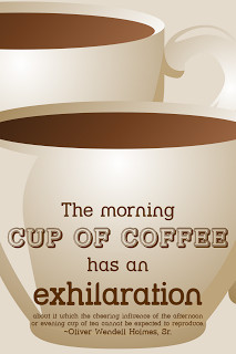 The morning cup of coffee has an exhilaration about it which the ...