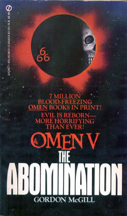 "Start by marking ""The Abomination: Omen V"" as Want to Read:"
