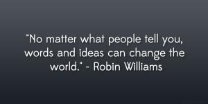 Life Quotes Robin Williams