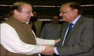 ISLAMABAD: President elect Mamnoon Hussain met Prime Minister Nawaz ...