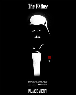 Funny photos funny the Godfather Darth Vader