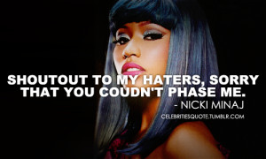 nicki minaj quotes about guys