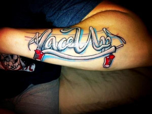 Mgk Lace Up Tattoo Who got lace up tattoos to