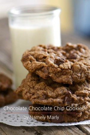 Chocolate Chocolate Chip Cookies by Namely Marly