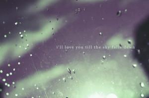 emo, love, quote, rain, raindrops