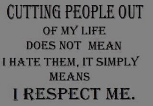 Sayings About Vindictive People   Cutting people out of my life does ...