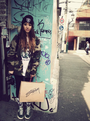 shoes dope weed blunt style supreme Obey college school woman babe ...