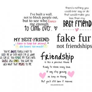 Friendship Is Like a Precious Flower ~ Best Friend Quote