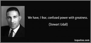More Stewart Udall Quotes